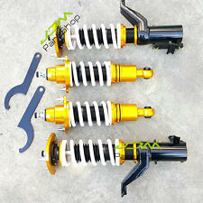 CIVIC EM2 EP3 ADJUSTABLE 32-WAY Mono tube  SUSPENSION COILOVER SPRINGS+SHOCKS