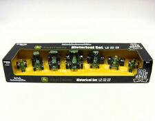 1/64 ERTL JOHN DEERE A, 60, 4020, 4430, 4450, 8400, & 8520 7PC SET