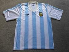 Argentina L 1990/91 Adidas Football Shirt Soccer Jersey Camiseta Kit Top GC