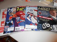 Lot of (5) Beckett Hockey Prices Guides from 2007-Taveras Crosby Messier!