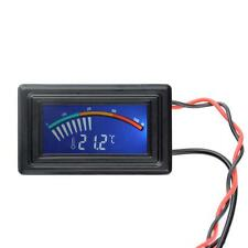 Digital LCD Thermometer Temperature Meter Gauge Molex Panel Mount C/F PC MOD