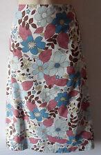 BODEN floral skirt UK 12 US 10