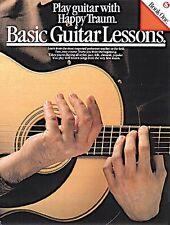 Basic Guitar Lessons Learn to Play Beginner Tutor Easy Music Book 1