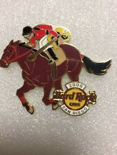 LE HARD ROCK CAFE SAN DIEGO 2006 RACE HORSE AND JOCKEY HRC PIN
