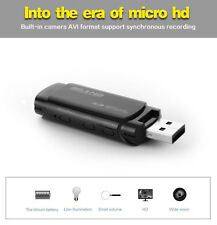 1080p HD Hidden Spy Camera DVR in USB Stick - Motion Detection & IR Night Vision
