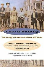 Like a Family : The Making of a Southern Cotton Mill World by Lu Ann Jones,...