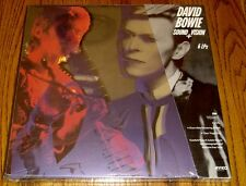 DAVID BOWIE SOUND VISION 6 LP CLEAR VINYL BOX SET STILL FACTORY SEALED