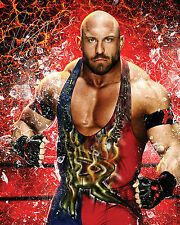 RYBACK #1 (WWE) - 10X8 PRE PRINTED LAB QUALITY PHOTO (SIGNED) (REPRINT)