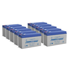 Power-Sonic 10 Pack - NEW REPLACEMENT BATTERY 12V 7AH