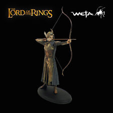Sideshow Weta Lord of the Rings GALADHRIM ARCHER Statue Elven LotR Very Rare