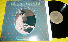 Glen Gould - The Little Bach Book / 1980 Columbia LP NM Vinyl