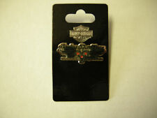 """Harley Davidson With Wings Tac Pin, Silver, 1.75"""" x .75"""", New"""