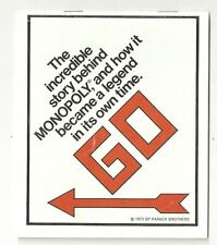 1973 - The Incredible Story Behind Monopoly Brochure