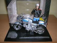 Solido Ducati 900 SS 900SS mit Fahrerfigur Joe Bar Team 1:18 Motorrad Moto