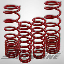 SUSPENSION COIL LOWER LOWERING SPRINGS SET RED - HONDA ACCORD 90-97