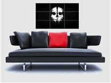 "CALL OF DUTY : GHOST BORDERLESS MOSAIC TILE WALL POSTER 35"" x 25"" GAMERS"