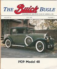BUICK BUGLE LOT OF 5 1985-89 ISSUES, WITH ATTACHED ORIGINAL MAILING ENVELOPES