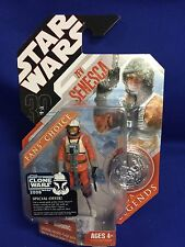 STAR WARS 30th Anniversary Saga Legends Zev Senesca Rebel Pilot Hasbro New