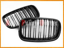 M Style Look Gloss Black Front Grille Grill For 2007-2013 BMW E70 E71 X5 X6 SUV