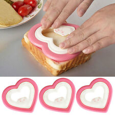 Pink Heart Shaped Sandwich Brot Cookie Keks Kuchenform Schimmel Form