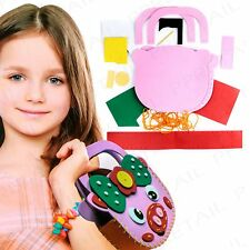 Pig Design MAKE YOUR OWN 3D BAG Needle/String Creative Kids/Childrens Activity