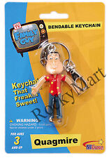 Family Guy QUAGMIRE ( KEY CHAIN ) Bendable Figure RARE Discontinued RM1727