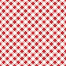 Lori Holt Fabric Sew Cherry 2 Fabric Red Gingham Fabric Riley Blake By The 1/2Y