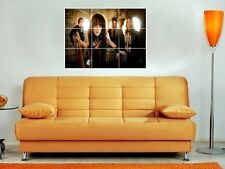 "HALESTORM BIG 35""X25"" INCH MOSAIC TILE WALL POSTER LZZY HALE"