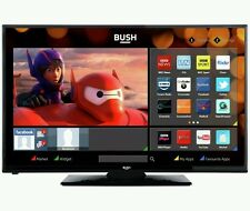 Bush 24 Inch HD Ready Freeview Smart LED TV/DVD Combi - Black. Built-in Wi-Fi.