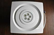 Bathroom Exhaust Fan SILENT SERIES , 85 CFM, LED LIGHT,White Color , CEILING FAN