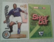 SHOOT OUT CARD 2003/04 (03/04) - Green Back - Leicester - Les Ferdinand