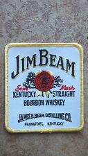 Aufnäher Jim Beam Whisky   Neu   (Nr.883)