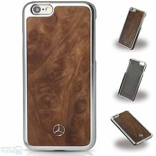 Mercedes Echtholz iPhone 6,6s Hard Cover Wood Case Schutzhülle Back Cover