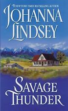 Savage Thunder, Johanna Lindsey, 0380753006, Book, Good
