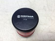 Werma Signaltechnik 840 080 00 Red Stack Light w/ LED 84008000 258.644.001AB