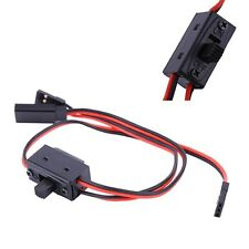 NEW Power On/Off Switch With JR Receiver Cord For FUTABA  RC Boat Car Flight