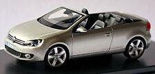 VW Volkswagen Golf VI Cabriolet 2011-16 silber silver metallic 1:43