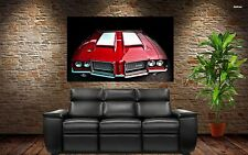 Vintage Classic Muscle Car - Oldsmobile 442 36x24 HD Poster Print