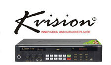 KVISION DVD KARAOKE ADVANCE USB TECHNOLOGY KARAOKE SYSTEM