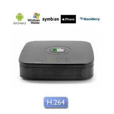 DVR Videosorveglianza 4 canali videoregistratore usb H.264 HD 500GB incluso