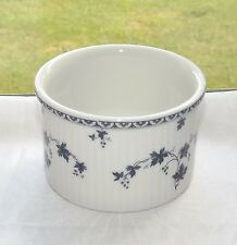Royal Doulton China Yorktown Pattern TC1013 Blue Grapevine Rammekin
