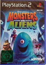 Monsters vs. Aliens ( Playstation 2 ) NEU & Sofort PS2