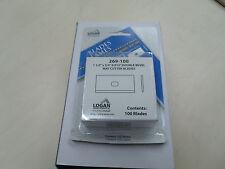 Logan 269-100 replacement blades Free P &P