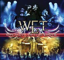 W.e.t. - ONE LIVE-in Stockholm 2 CD + DVD NUOVO