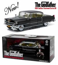 GREENLIGHT THE GODFATHER 1955 CADILLAC DIECAST MODEL CAR 1:18 12949