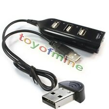 USB-Mini-Bluetooth-Dongle Wireless Adapter+USB-Teiler-Naben-Buchse4Port weiblich