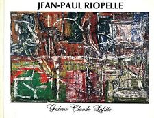 Jean-Paul Riopelle Art Bk 1960's Quebec Abstraction