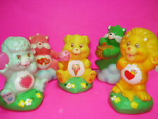 Vtg 80s Care Bears CERAMIC FIGURINES American Greeting Lot of 5 1983 3""