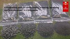 Pietre Costruzione 4 Pack 1:50 screening Quarry DIORAMA