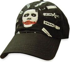 AWESOME BATMAN: THE DARK KNIGHT JOKERS WEAPON OF CHOICE VELCRO CAP HAT *NEW*